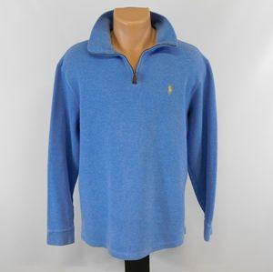 Polo Ralph Lauren 1/4 zip sweater.  L